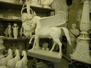 Atelier Hoferick Büste Pegasus